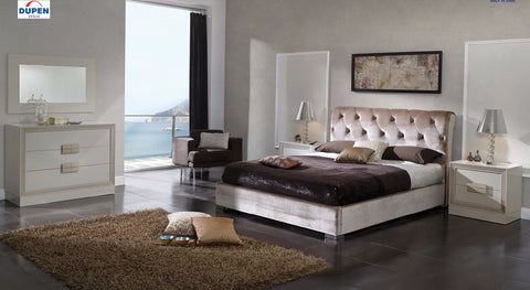 Miriam 4 Pcs King Bedroom Set With Storage - Pearl Igloo - 1
