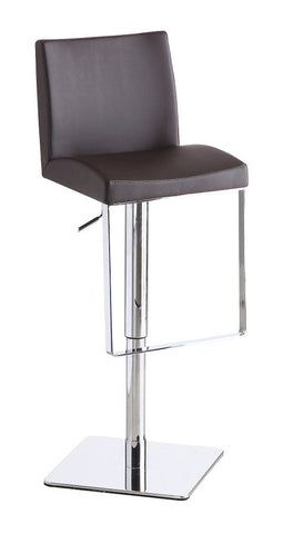 C171-3 Brown Swivel Barstool SKU17749 - Pearl Igloo - 1