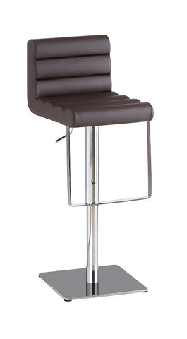 C192-3 Brown Swivel Barstool SKU17752 - Pearl Igloo - 1