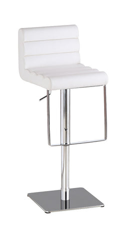 C192-3 White Swivel Barstool SKU17753 - Pearl Igloo - 1