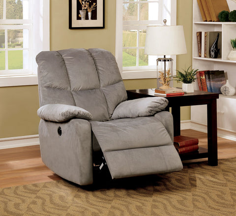 Noreen Recliner Chair CM-RC6516GY