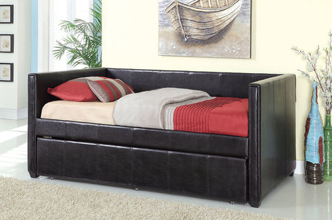 Cadiz Collection Daybed With Trundle  CM1955BK - Pearl Igloo