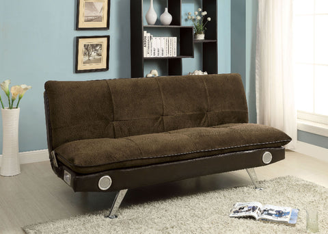Gallagher Futon Sofa CM2675BR - Pearl Igloo
