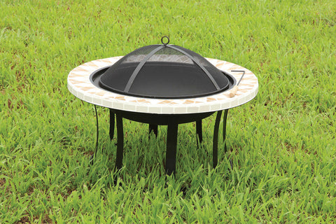 CM-OF1803 Outdoor Fire Place Ardoch Collection - Pearl Igloo