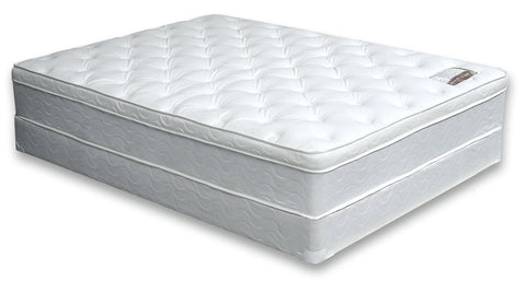 Bird of Paradise Euro Pillow Top Twin Size Mattress DM-315T-M - Pearl Igloo