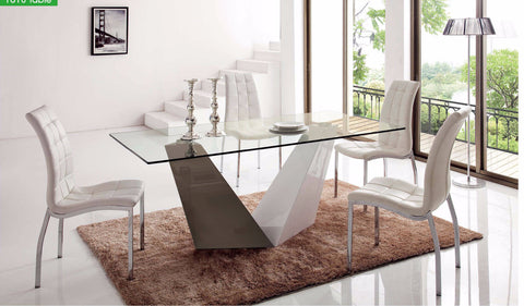 ESF 5 Dining Table  and Chairs Set - Pearl Igloo - 1