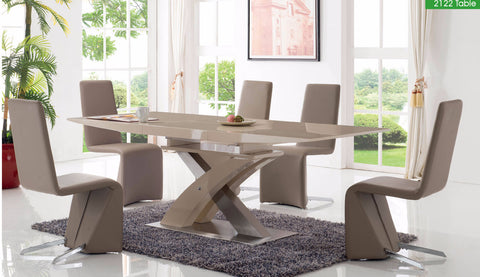 ESF 6 Pcs Dining Table and Chairs Set - Pearl Igloo - 1