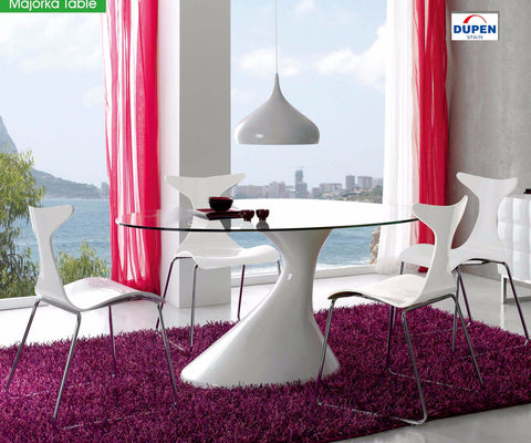 Majorka & Ibiza 5 Pcs Dining Set - Pearl Igloo - 1