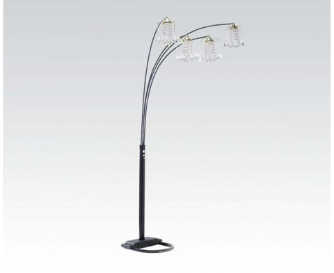 Chandelier Floor Lamp 03730BK