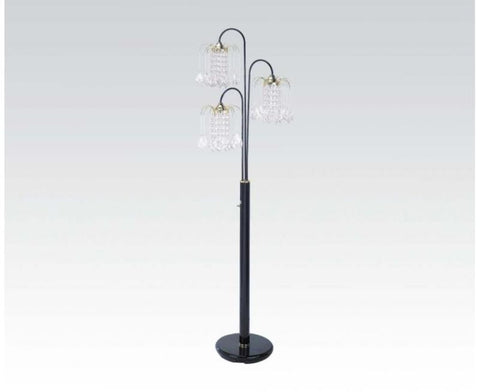 Chandelier Floor Lamp 03725BK