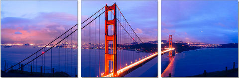 Golden Gate Bridge - SH-71050ABC SKU18156 - Pearl Igloo