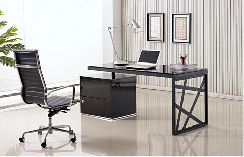 KD01 Modern Office Desk SKU17916 - Pearl Igloo - 1