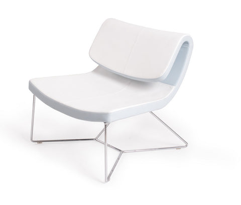 Hollywood White Chair SKU17964111 - Pearl Igloo - 1