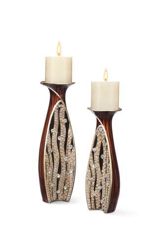 L94265C Candle Holder Set - Pearl Igloo