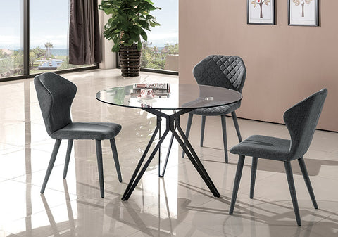 Solano Modern 5 Pcs Dining Set SKU18225 - Pearl Igloo - 1