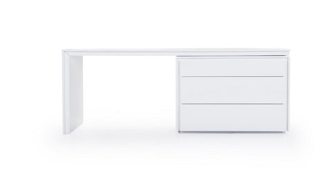 Trend Modern White Office Desk SKU181191 - Pearl Igloo - 1