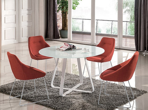 Vera Modern 5 Pcs Dining Set SKU18227 - Pearl Igloo - 1