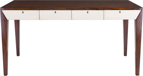 Cecilia 4-Drawer Writing Desk AMH4541A - Pearl Igloo - 1