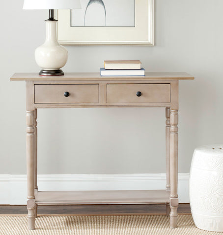 Rosemary 2 Drawer Console Table AMH5705A - Pearl Igloo - 1