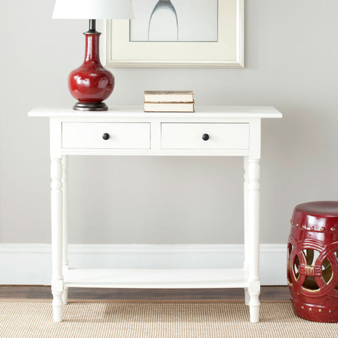 Rosemary 2 Drawer Console Table AMH5705C - Pearl Igloo - 1