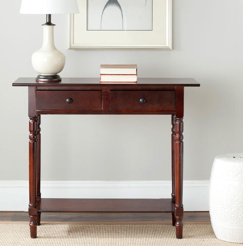 Rosemary 2 Drawer Console Table AMH5705D - Pearl Igloo - 1