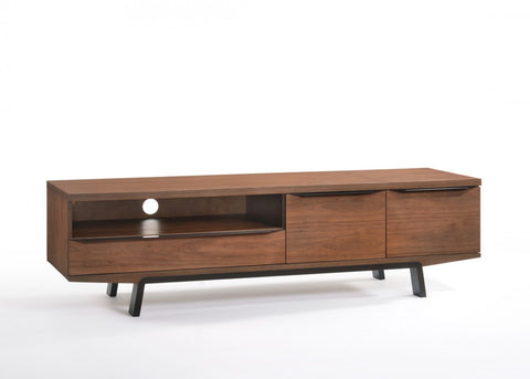 Modrest Sloan Modern Walnut TV Stand VGMABH-371 - Pearl Igloo