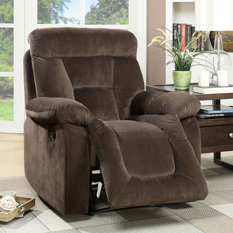 Bloomington Recliner- CM6129BR-CH - Pearl Igloo - 1