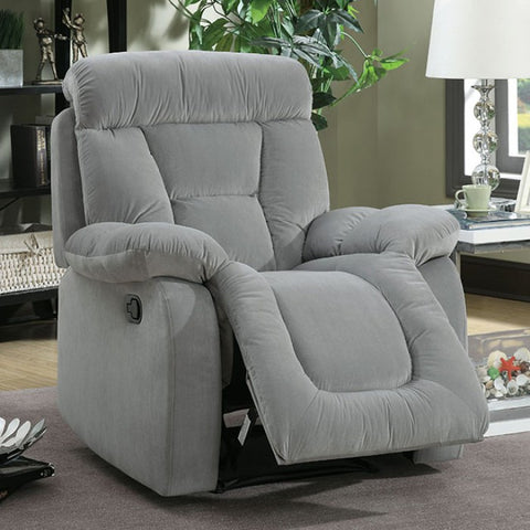 Bloomington Recliner- CM6129GY-CH - Pearl Igloo - 1