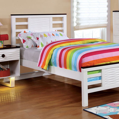 Meredith Twin Bed CM7191T - Pearl Igloo - 1