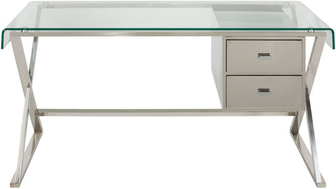 Tyson Desk FOX9001A - Pearl Igloo - 1
