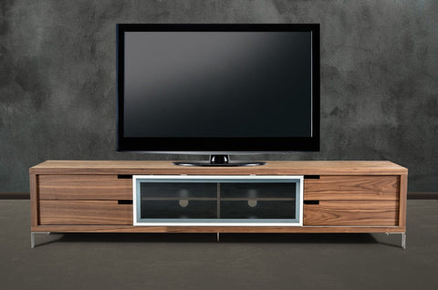 Modrest Edward modern Walnut TV Stand VGBBLD03-WAL - Pearl Igloo - 1