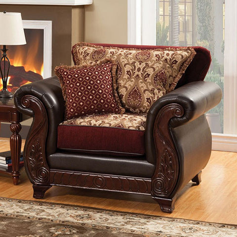 Franklin Chair SM6107N-CHAIR - Pearl Igloo - 1