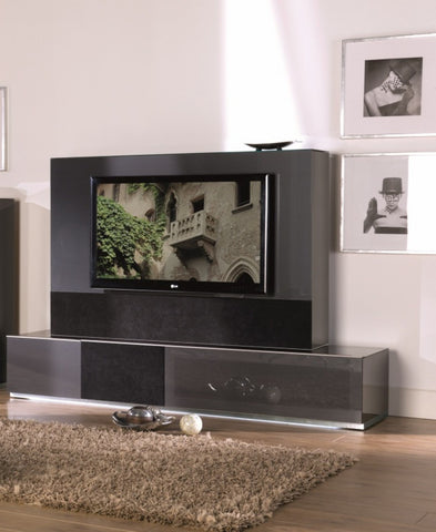 Modrest Verona VR4 Shiny Metallic Charcoal grey Entertainment System VGMUVR4-ANM - Pearl Igloo - 1