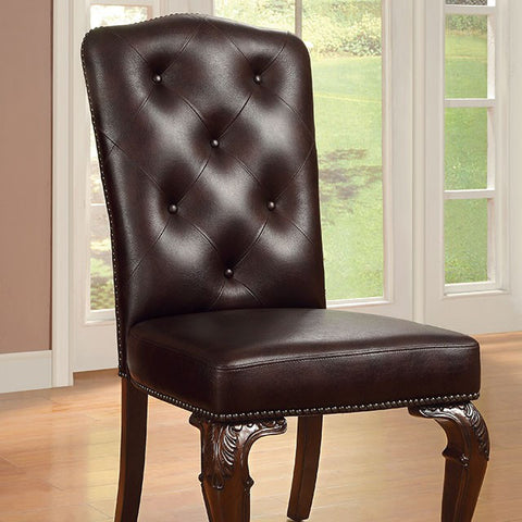 Bellagio 2Pc Side Chair - CM3319L-SC-2PK Free Shipping - Pearl Igloo - 1