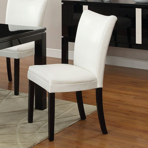 Belliz Side Chair - CM3176WH-SC-2PK (2Piece) Free Shipping - Pearl Igloo - 1