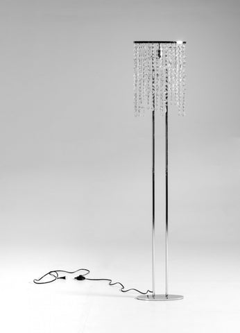 Modrest Modern Crystal Floor Lamp VGKRKF1003 - Pearl Igloo