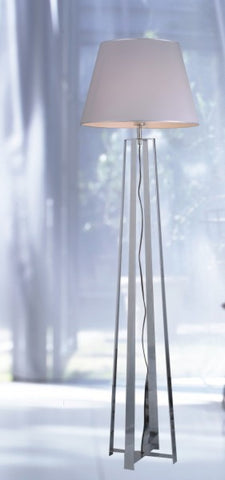 Modrest Modern Stainless Steel Floor Lamp VGKRKM064F - Pearl Igloo