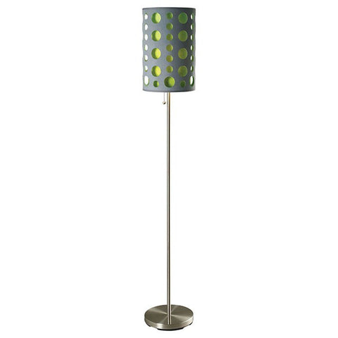 Hoolie Floor Lamp- L79300FGY-GR - Pearl Igloo