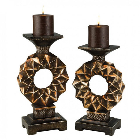 Mabel Candle Holder Set -  L94222C-4PK - Pearl Igloo