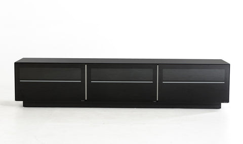 Modrest Landon Contemporary Black TV Stand VGBBSJ8202-BLK - Pearl Igloo - 1