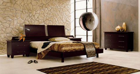Modrest Miss Italia Composition 04 Italian Platform Queen Bed Group VGCLMISSITALIA04 - Pearl Igloo - 1