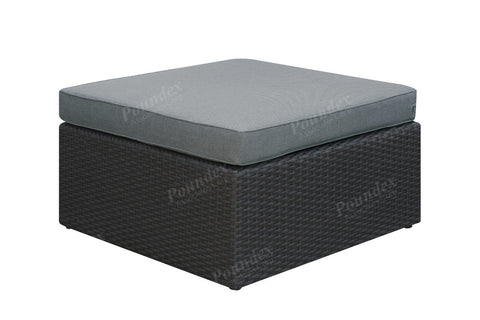 Poundex Outdoor Ottoman P50144 - Pearl Igloo - 1
