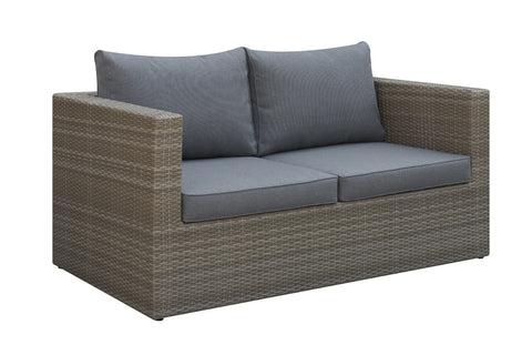 Poundex Outdoor Loveseat P50149 - Pearl Igloo