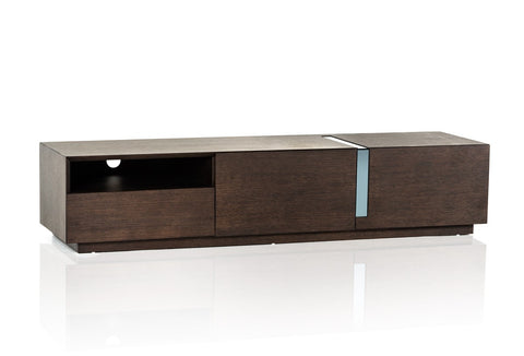 Modrest Pisa Modern Brown Oak TV Stand VGWCTV027 - Pearl Igloo - 1