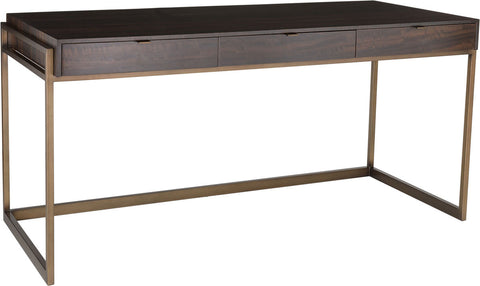 Genevieve 3-Drawer Writing Desk SFV6008A - Pearl Igloo - 1