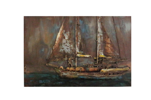 Modrest Pinnace Modern Boat Painting VGTHTCX0037 - Pearl Igloo