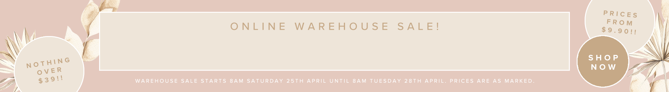 Mura Fashion - Warehouse Sale - $29