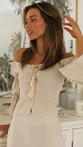 Sea Breeze Top (Sand)