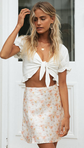 Tylah Crop (White)