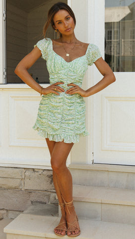 Forever Young Dress (Green)